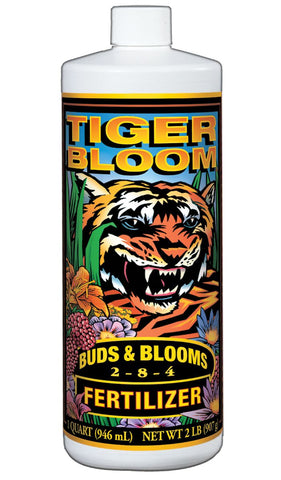 FoxFarm 'Tiger Bloom' Liquid Concentrate (2-8-4) Qt.