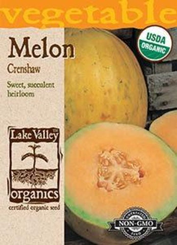 Organic Melon Crenshaw Heirloom