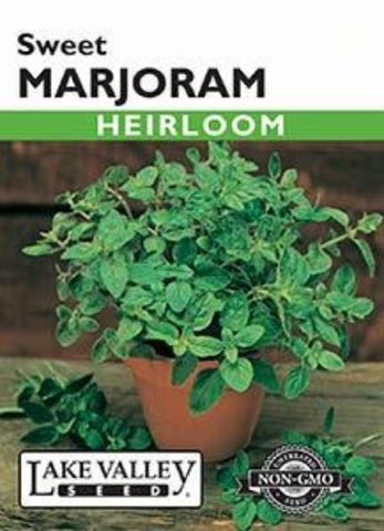 Marjoram Sweet Heirloom