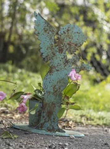 PP Winged Cherub Planter