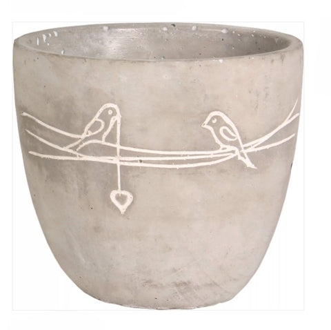 JP_ Bird on Wire Planter small