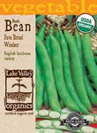 Organic Bean Fava Broad Windsor
