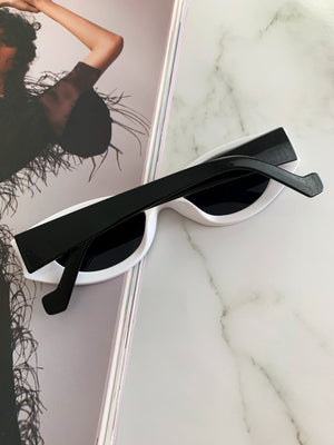 Venus sunglasses ☆ White & Black