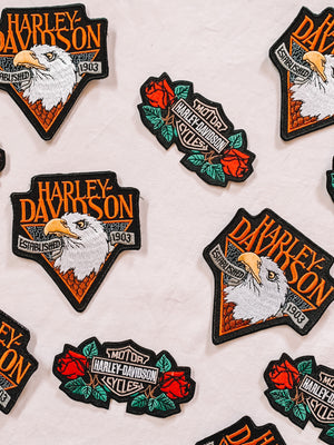 Harley Davidson patches (2 pack)