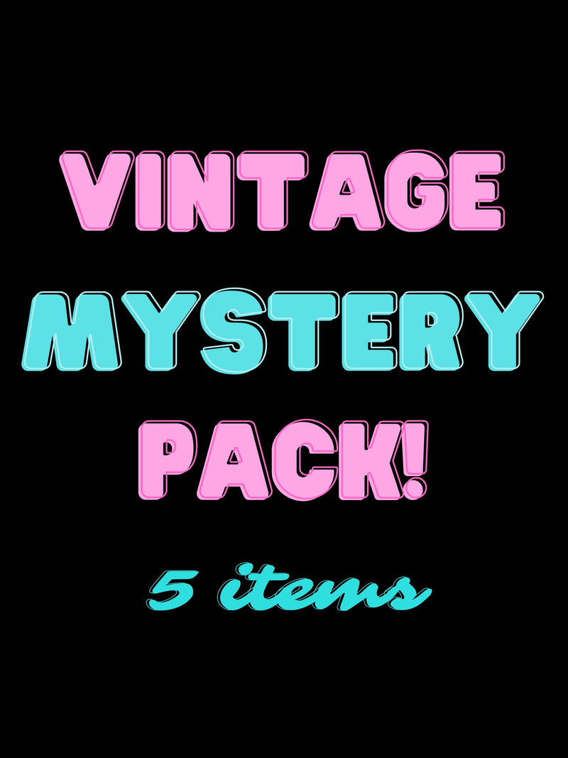Vintage Mystery Pack (5 items)
