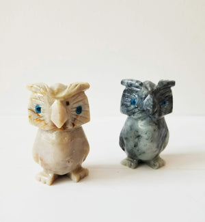 Soapstone Animal Sculptures/ Figurines