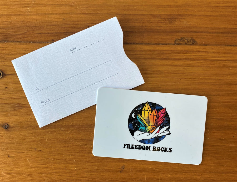 Freedom Rocks Gift Cards!