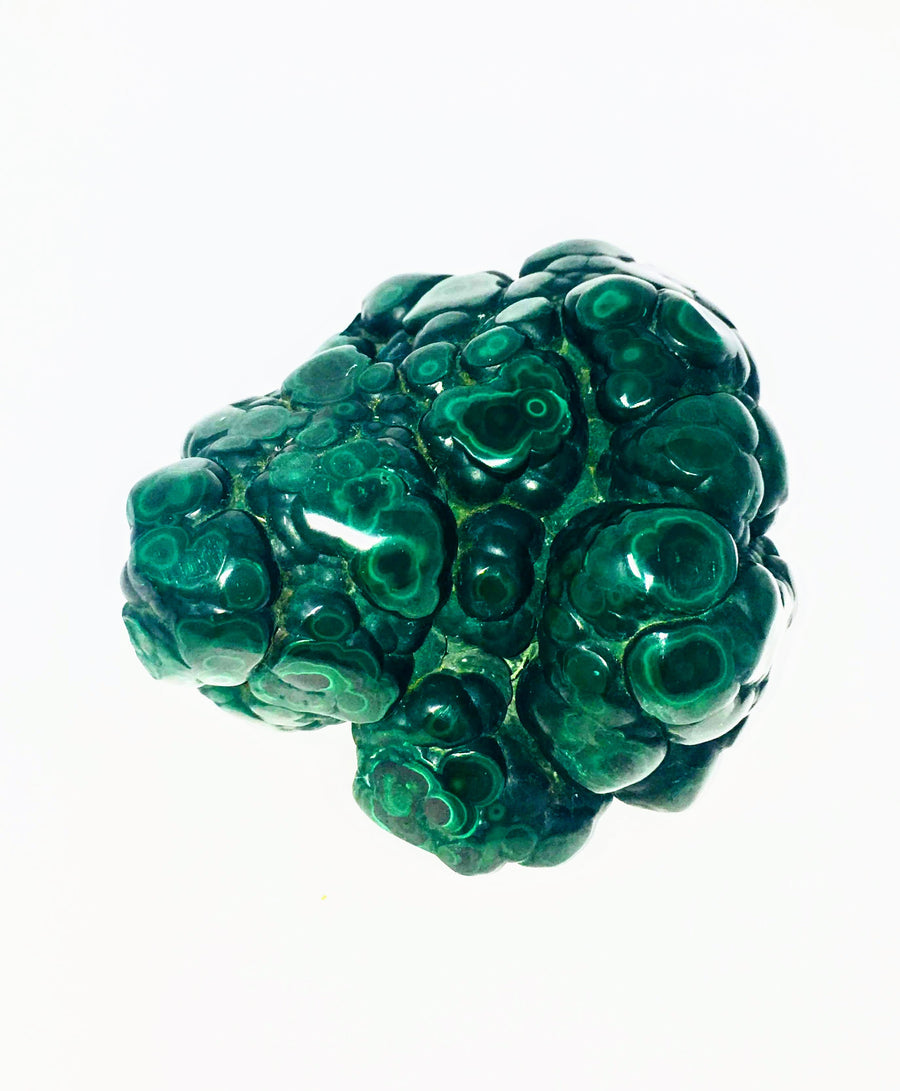Natural Malachite Free Form Crystal
