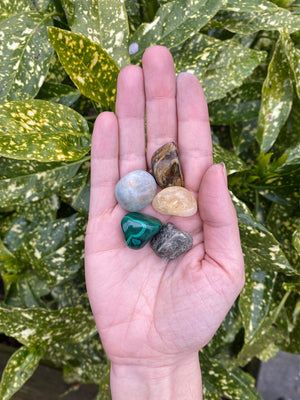 Prosperity Crystal Bundle set Immunity Support wealth Financial Stability and Abundance Crystals for wealth Crystal Set