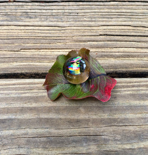 "AAA High Quality Smokey Quartz Sphere Filled with Rainbows / About 1.5"" Diameter / Protection / Root Chakra / Boundaries / Grounding Stone"