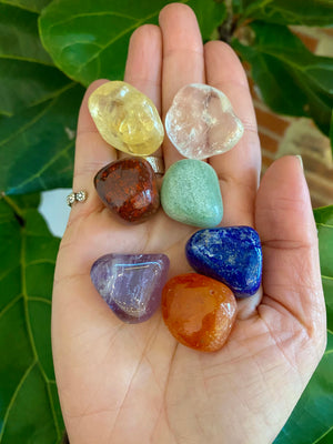 The Ultimate Freedom Rocks Crystal Gift Sets for Holidays // Choose from Prosperity, Immunity, Self Love, Chakra, Focus and Creativity