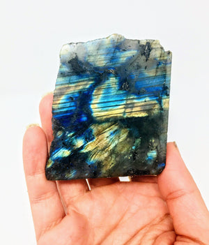 One Face Polished Flashy Labradorite slabs