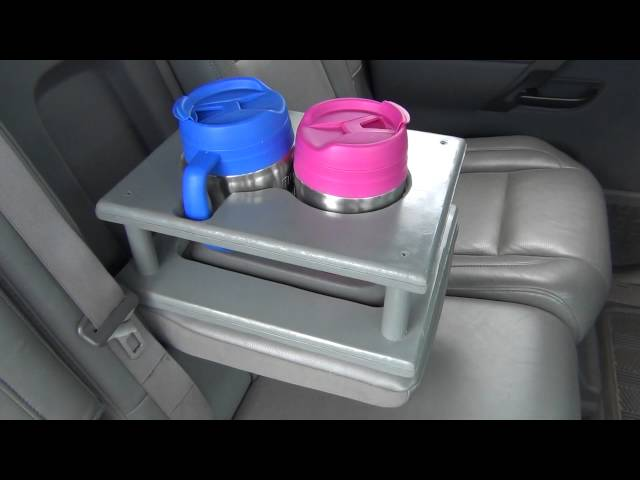 DIY: Rear seat cup holder extension