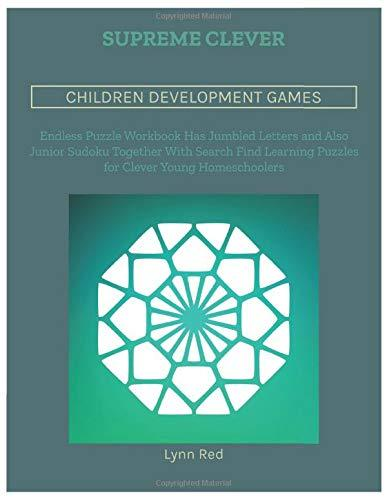 Supreme Clever Children Development Games: Endless Puzzle Workbook Has Jumbled Letters