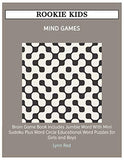 ROOKIE KIDS MIND GAMES: Brain Game Book Includes Jumble Word With Mini Sudoku Plus Word Circle