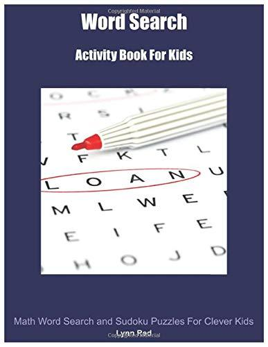Word Search: Activity Book For Kids