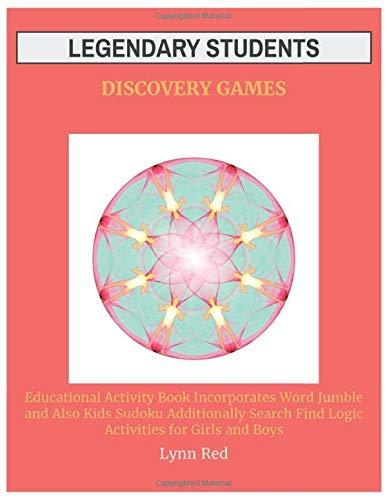 Legendary Students Discovery Games: Educational Activity Book Incorporates Word Jumble
