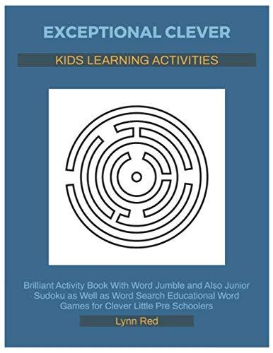 Exceptional Clever Kids Learning Activities: Brilliant Activity Book With Word Jumble
