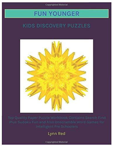 Fun Younger Kids Discovery Puzzles: Top Quality Paper Puzzle Workbook Contains Search Find