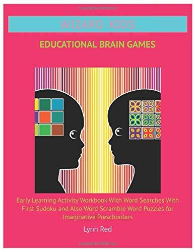 Wizard Kids Educational Brain Games: Early Learning Activity Workbook With Word Searches