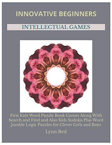 Innovative Beginners Intellectual Games: First Kids Word Puzzle Book Comes Along With Search