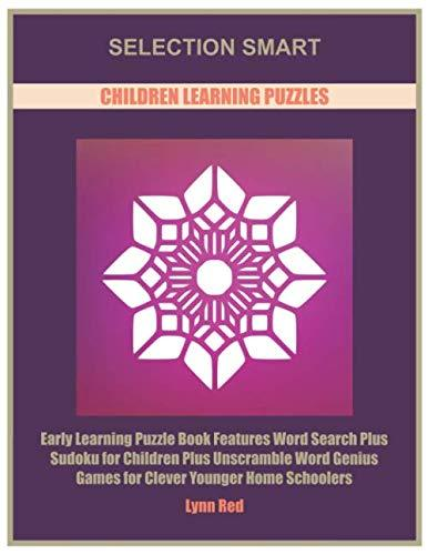 Selection Smart Children Learning Puzzles: Early Learning Puzzle Book Features Word Search