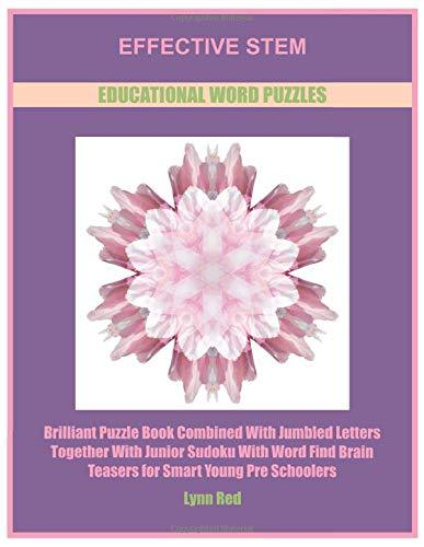 Effective Stem Educational Word Puzzles: Brilliant Puzzle Book Combined With Jumbled Letters