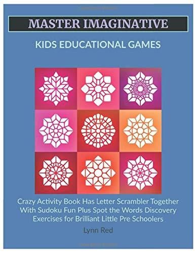 Master Imaginative Kids Educational Games: Crazy Activity Book Has Letter Scrambler