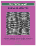 Selection Smart Kids Word Activities: Endless Puzzle Workbook Incorporates Word Scramble
