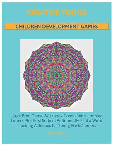 Creative Young Children Development Games: Large Print Game Workbook Comes With Jumbled Letters