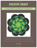 Creative Smart Children Learning Puzzles: Perfect Game Workbook Includes Word Searches