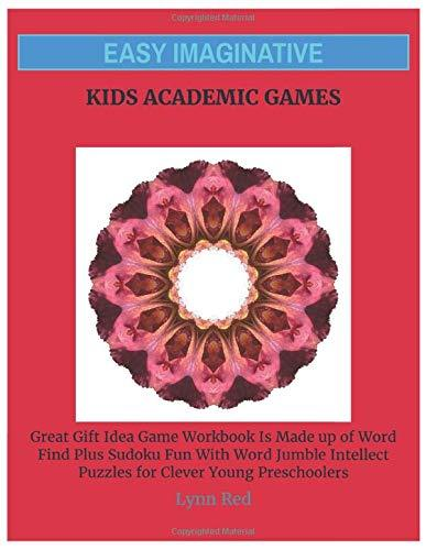 Easy Imaginative Kids Academic Games: Great Gift Idea Game Workbook Is Made up of Word Find