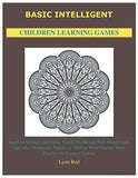Basic Intelligent Children Learning Games: Improve Memory and Focus Puzzle Workbook With Word