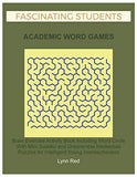 Fascinating Students Academic Word Games: Brain Exercise Activity Book Including Word Circle