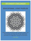 Student Children Educational Logic Puzzles: Mixed Activity Workbook With Jumbled Letters