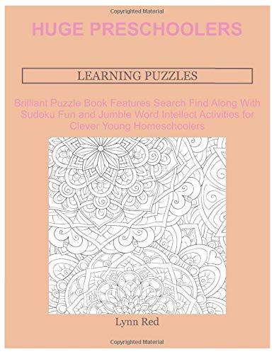 Huge Preschoolers Learning Puzzles: Brilliant Puzzle Book Features Search Find Along With Sudoku
