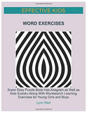 EFFECTIVE KIDS WORD EXERCISES: Super Easy Puzzle Book Has Anagram as Well as Kids Sudoku