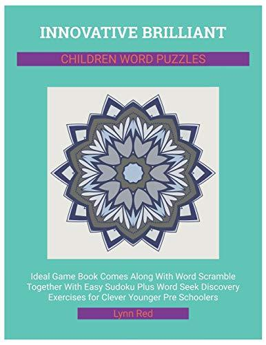 Innovative Brilliant Children Word Puzzles: Ideal Game Book Comes Along With Word Scramble