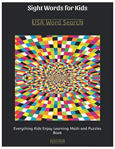 Sight Words for Kids: USA Word Search