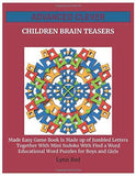 Advanced Clever Children Brain Teasers: Made Easy Game Book Is Made up of Jumbled Letters