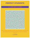 PERFECT STUDENTS ACADEMIC GAMES: Mixed Activity Workbook Features Word Scramble Together