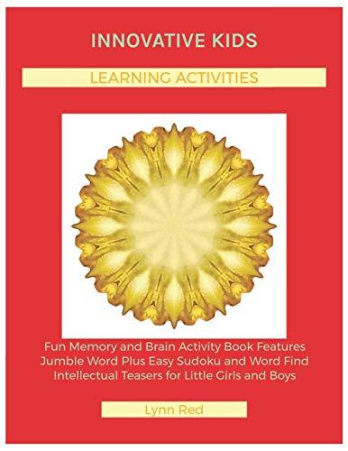 Innovative Kids Learning Activities: Fun Memory and Brain Activity Book Features Jumble Word