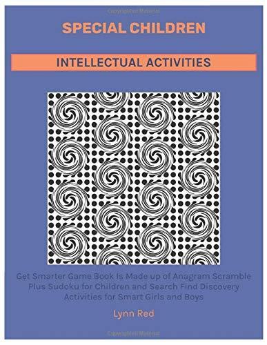 Special Children Intellectual Activities: Get Smarter Game Book Is Made up of Anagram Scramble