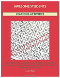 Awesome Students Learning Activities: Easy to Medium Puzzle Book Including Word Jumble