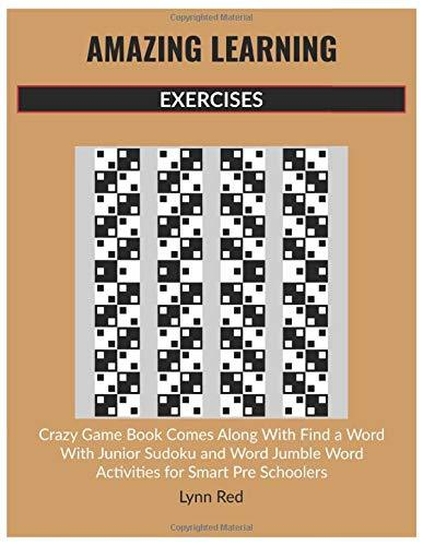 AMAZING LEARNING EXERCISES: Crazy Game Book Comes Along With Find a Word With Junior Sudoku