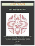 HUGE CLEVER KIDS WORD ACTIVITIES: Made Easy Activity Book Contains Word Searches and Junior