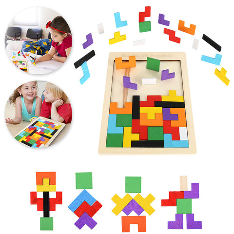 Wooden Jigsaw Board Math Toys For Children