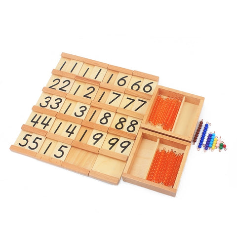 Montessori Teaching Math Toys