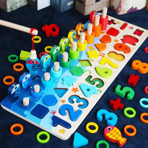 Kids Educational Wooden Toys