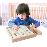 Wooden Game Toys with Sudoku Books
